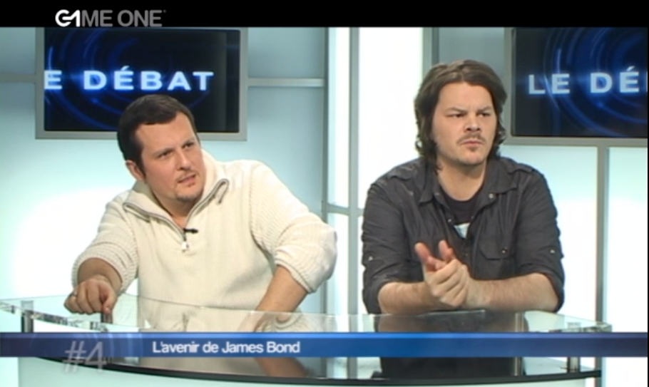 "Lors du débat ""James Bond"" sur Game One"