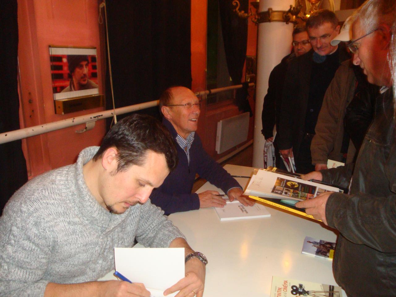 Avec Tintin à Poitiers