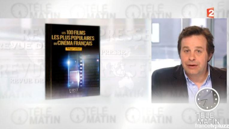 """""""Les 100 films..."""" à  Télématin"""